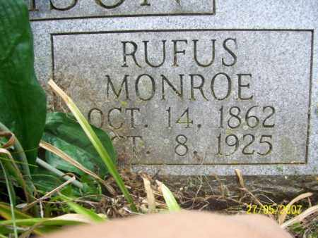 HARVISON, RUFUS MONROE - Independence County, Arkansas | RUFUS MONROE HARVISON - Arkansas Gravestone Photos