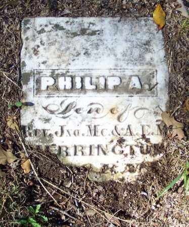 HERRINGTON, PHILIP A. - Independence County, Arkansas | PHILIP A. HERRINGTON - Arkansas Gravestone Photos