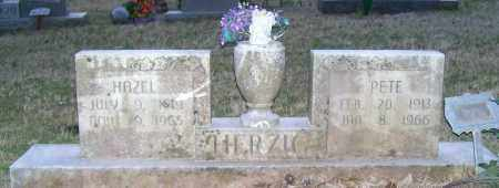 HERZIG, HAZEL - Independence County, Arkansas | HAZEL HERZIG - Arkansas Gravestone Photos