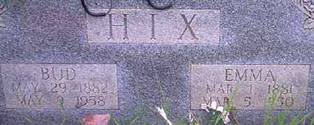 HIX, EMMA - Independence County, Arkansas | EMMA HIX - Arkansas Gravestone Photos