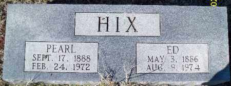 HIX, PEARL - Independence County, Arkansas | PEARL HIX - Arkansas Gravestone Photos