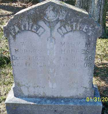 HODGES, MARY M. - Independence County, Arkansas | MARY M. HODGES - Arkansas Gravestone Photos