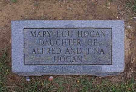 HOGAN, MARY LOU - Independence County, Arkansas | MARY LOU HOGAN - Arkansas Gravestone Photos