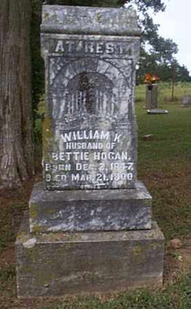 HOGAN, WILLIAM K. - Independence County, Arkansas | WILLIAM K. HOGAN - Arkansas Gravestone Photos