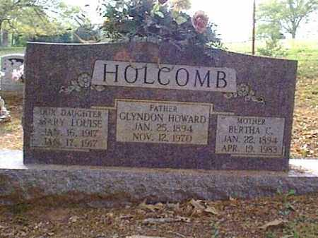 HOLCOMBE, BERTHA C. - Independence County, Arkansas | BERTHA C. HOLCOMBE - Arkansas Gravestone Photos