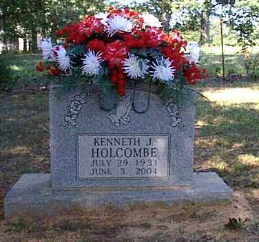 HOLCOMBE, KENNETH J. - Independence County, Arkansas | KENNETH J. HOLCOMBE - Arkansas Gravestone Photos