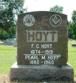 HOYT, F. C. - Independence County, Arkansas | F. C. HOYT - Arkansas Gravestone Photos