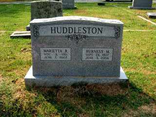 RICHARDSON HUDDLESTON, MARIETTA - Independence County, Arkansas | MARIETTA RICHARDSON HUDDLESTON - Arkansas Gravestone Photos
