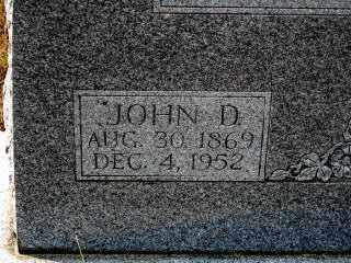 HUDDLESTON (2), JOHN D. - Independence County, Arkansas | JOHN D. HUDDLESTON (2) - Arkansas Gravestone Photos