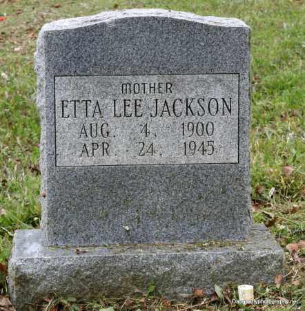 JACKSON, ETTA - Independence County, Arkansas   ETTA JACKSON - Arkansas Gravestone Photos