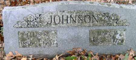 JOHNSON, ELLIS - Independence County, Arkansas | ELLIS JOHNSON - Arkansas Gravestone Photos
