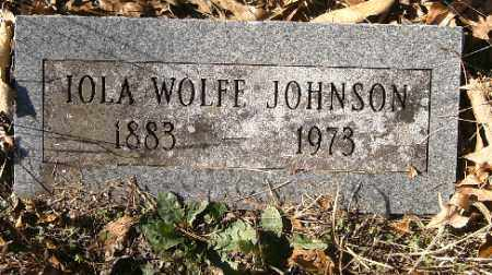 JOHNSON, IOLA - Independence County, Arkansas | IOLA JOHNSON - Arkansas Gravestone Photos