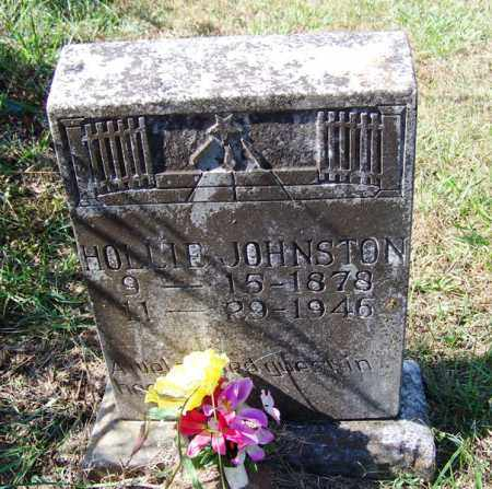 JOHNSTON, HOLLIE - Independence County, Arkansas | HOLLIE JOHNSTON - Arkansas Gravestone Photos
