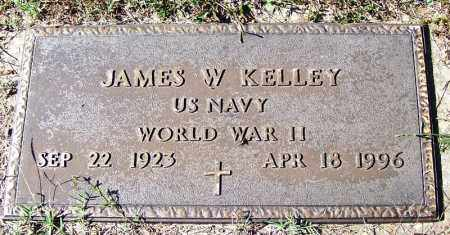 KELLY (VETERAN WWII), JAMES W - Independence County, Arkansas | JAMES W KELLY (VETERAN WWII) - Arkansas Gravestone Photos