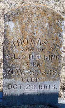KING, THOMAS. J. - Independence County, Arkansas | THOMAS. J. KING - Arkansas Gravestone Photos
