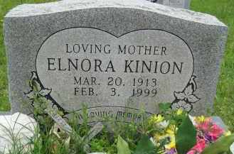 KINION, ELNORA - Independence County, Arkansas | ELNORA KINION - Arkansas Gravestone Photos