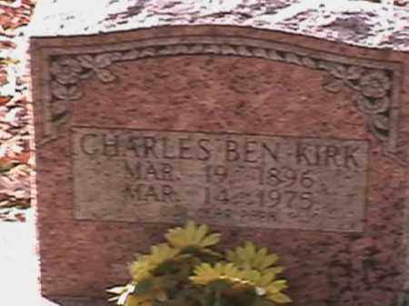 "KIRK, CHARLES ""CHARLIE"" BEN WILLIAM - Independence County, Arkansas 