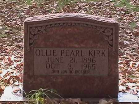 KIRK, OLLIE PEARL - Independence County, Arkansas | OLLIE PEARL KIRK - Arkansas Gravestone Photos
