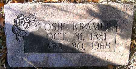 KRAMER, OSIE - Independence County, Arkansas | OSIE KRAMER - Arkansas Gravestone Photos