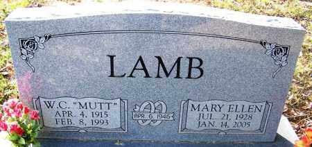 LAMB, MARY ELLEN - Independence County, Arkansas | MARY ELLEN LAMB - Arkansas Gravestone Photos