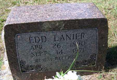 LANIER, EDD - Independence County, Arkansas | EDD LANIER - Arkansas Gravestone Photos