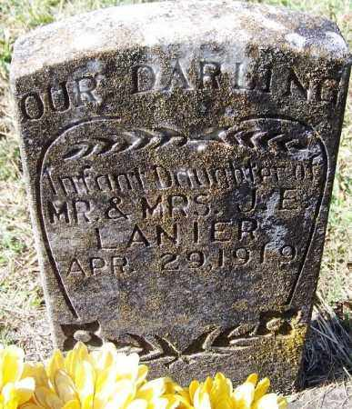 LANIER, INFANT DAUGHTER - Independence County, Arkansas | INFANT DAUGHTER LANIER - Arkansas Gravestone Photos