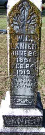LANIER, W L - Independence County, Arkansas | W L LANIER - Arkansas Gravestone Photos