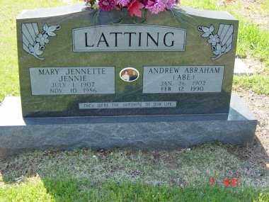LATTING, ANDREW ABRAHAM - Independence County, Arkansas | ANDREW ABRAHAM LATTING - Arkansas Gravestone Photos