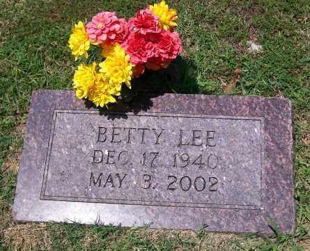 LEE, BETTY - Independence County, Arkansas | BETTY LEE - Arkansas Gravestone Photos