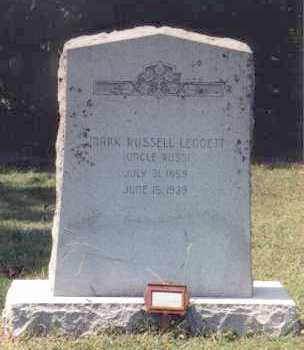 LEGGETT, MARK RUSSELL - Independence County, Arkansas | MARK RUSSELL LEGGETT - Arkansas Gravestone Photos