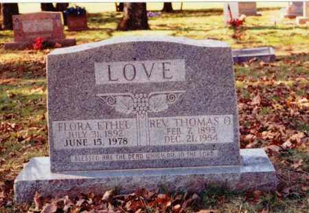LOVE, THOMAS OWEN - Independence County, Arkansas | THOMAS OWEN LOVE - Arkansas Gravestone Photos
