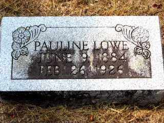 LOWE, PAULINE - Independence County, Arkansas | PAULINE LOWE - Arkansas Gravestone Photos