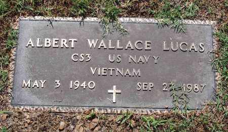 LUCAS  (VETERAN VIET), ALBERT WALLACE - Independence County, Arkansas | ALBERT WALLACE LUCAS  (VETERAN VIET) - Arkansas Gravestone Photos