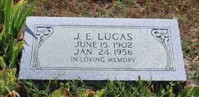 LUCAS, J. E. - Independence County, Arkansas   J. E. LUCAS - Arkansas Gravestone Photos