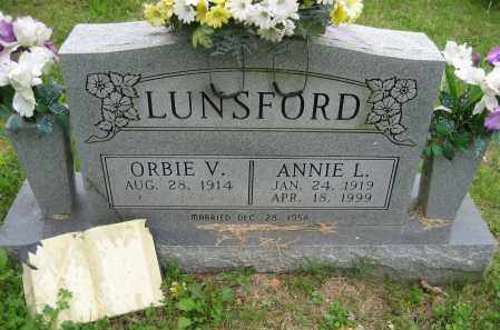 LUNSFORD, ANNIE L. - Independence County, Arkansas | ANNIE L. LUNSFORD - Arkansas Gravestone Photos