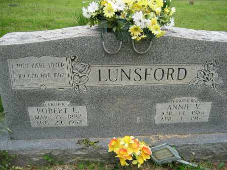 LUNSFORD, ANNIE V. - Independence County, Arkansas | ANNIE V. LUNSFORD - Arkansas Gravestone Photos