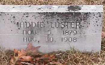 LUSTER, ADDIE - Independence County, Arkansas | ADDIE LUSTER - Arkansas Gravestone Photos