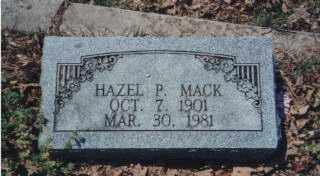 MACK, HAZEL EDNA - Independence County, Arkansas | HAZEL EDNA MACK - Arkansas Gravestone Photos