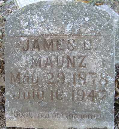 MANUZ, JAMES B - Independence County, Arkansas | JAMES B MANUZ - Arkansas Gravestone Photos