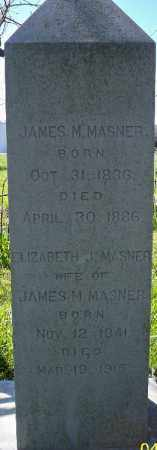 MASNER, JAMES M. - Independence County, Arkansas | JAMES M. MASNER - Arkansas Gravestone Photos