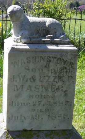 MASNER,, WASHINGTON R. - Independence County, Arkansas | WASHINGTON R. MASNER, - Arkansas Gravestone Photos