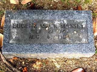 "MASSEY, EUGENE MACK ""GENE MACK"" - Independence County, Arkansas 