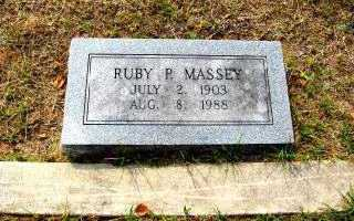 MASSEY, RUBY P. - Independence County, Arkansas | RUBY P. MASSEY - Arkansas Gravestone Photos