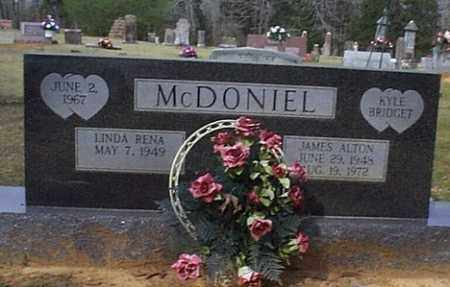 MCDONIEL, LINDA RENA - Independence County, Arkansas | LINDA RENA MCDONIEL - Arkansas Gravestone Photos