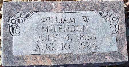 MCLENDON, WM. W., MCLENDON, WM. W. - Independence County, Arkansas | MCLENDON, WM. W. MCLENDON, WM. W. - Arkansas Gravestone Photos