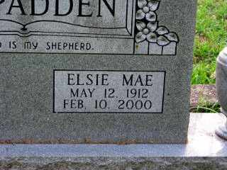 MCSPADDEN, ELSIE MAE - Independence County, Arkansas | ELSIE MAE MCSPADDEN - Arkansas Gravestone Photos