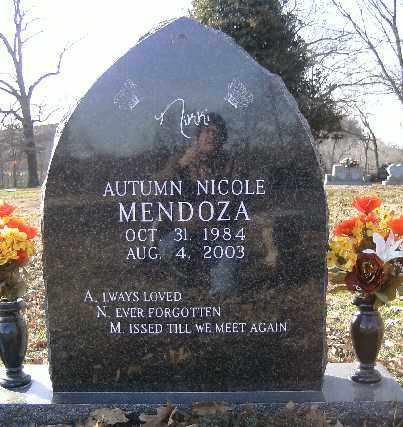 MENDOZA,, AUTUMN NICOLE - Independence County, Arkansas | AUTUMN NICOLE MENDOZA, - Arkansas Gravestone Photos