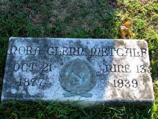 METCALF, NORA GLENN - Independence County, Arkansas | NORA GLENN METCALF - Arkansas Gravestone Photos