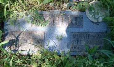 MOHLKE, MINNIE MAE - Independence County, Arkansas | MINNIE MAE MOHLKE - Arkansas Gravestone Photos