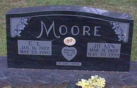 MOORE, CHARLES L. - Independence County, Arkansas | CHARLES L. MOORE - Arkansas Gravestone Photos